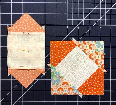 Repeat adding triangles to a square