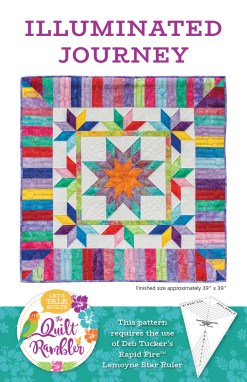 Illuminated Journey quilt pattern by The Quilt Rambler