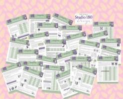 Studio 180 Design Technique Sheets
