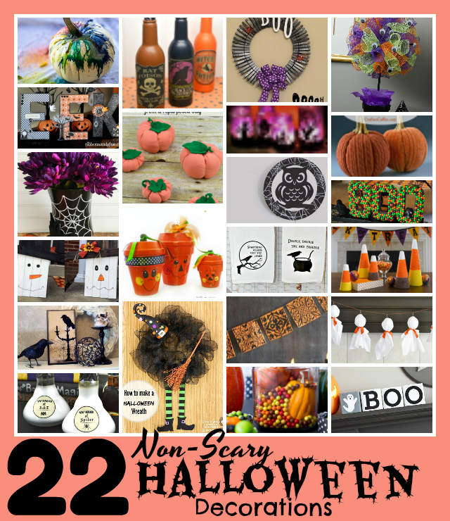 22 Non-Scary DIY Halloween Decorations