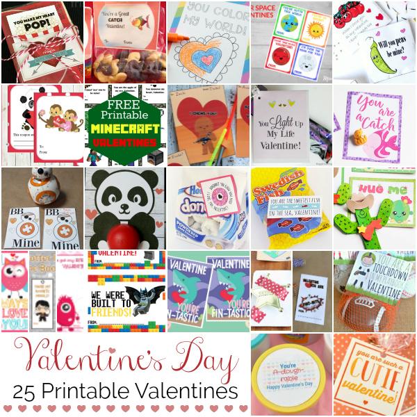 valentine's day printable valentines