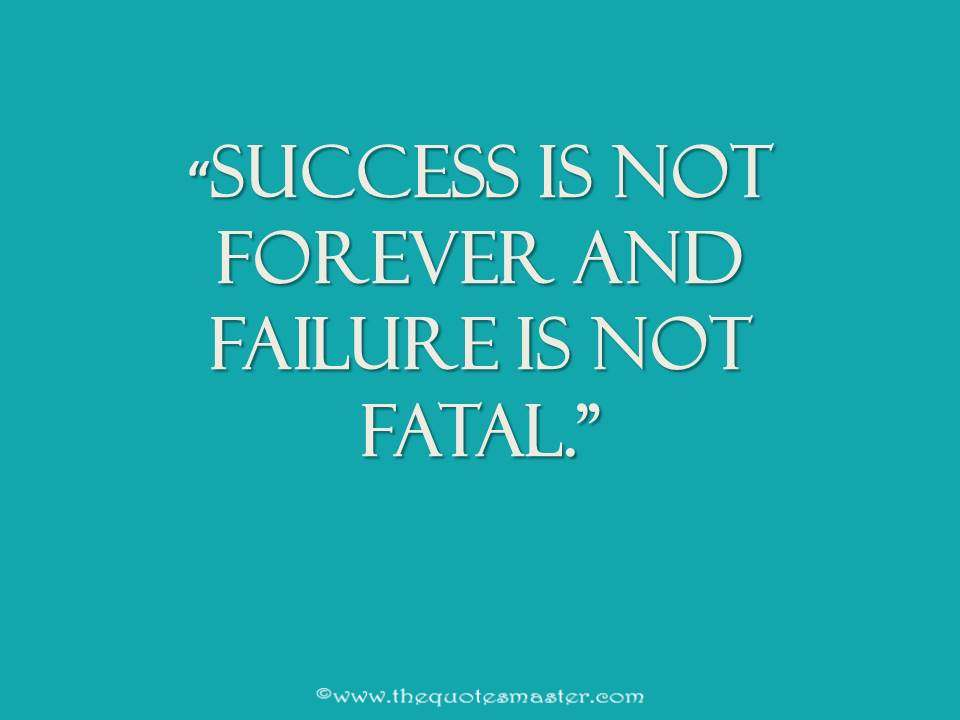 Quote About Success Vs Failure