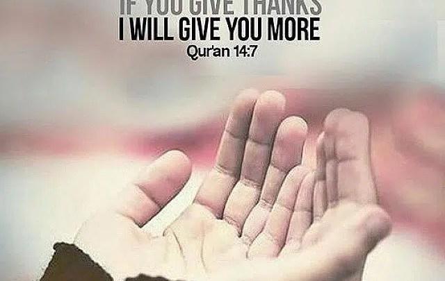 Shukr in islam