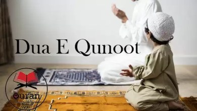 Dua E Qunoot With Urdu Translation Archives - Learn Quran