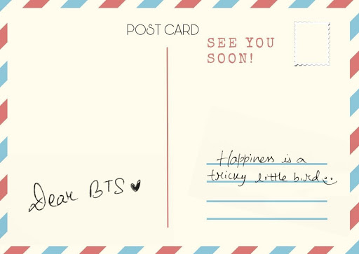 Postcard from BTS
