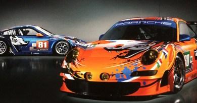 flying lizards race cars, lemans 2011