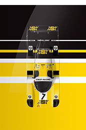 new man porsche 956 Motorsport art by Ricardo Santos