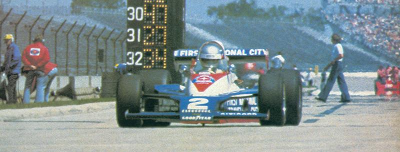 Al Unser 1978 Lola T500 Indy 500 Jim Hall, Al Unser, Indy 500 winner Chaparral Lola T500