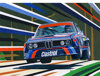 BMW CLS jump by Miha Klemen