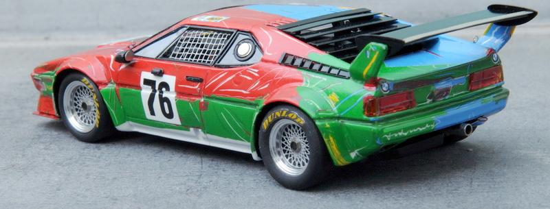 renaissance andy warhol bmw art car 1:43 models