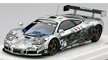 tsm mclaren f1 lm95 poulain bmw art car models