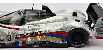 quartzo peugeot 905 lemans 1993 dirty models finish line version