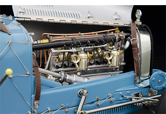 cmc bugatti t35 france engine, monaco 1930