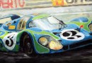 Art of the LeMans 24 hour race