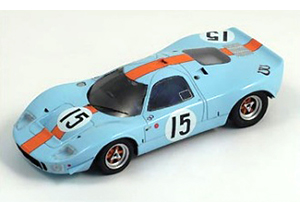 1967 bizarre mirage ford m1 lemans gulf racing models in 1:43 scale