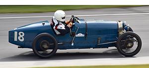 1926 bugatti t37 at the lime rock vintage festival 2018