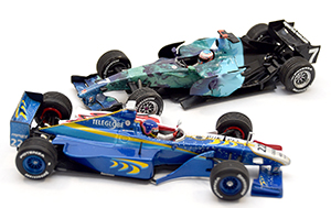 BAR01 and Honda RA107, more art car models in 1:43 scale