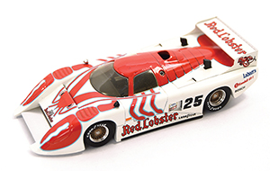 march 83g red lobster, more art car models in 1:43 scale