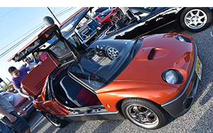 mazda autozam az1 cars and coffee at oak beach 2