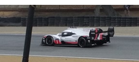 Porsche 919 tribute car at Porsche Rennsport Reunion VI