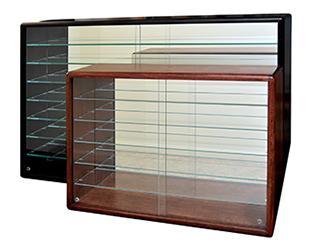 racerhead mirrored cabinets empty