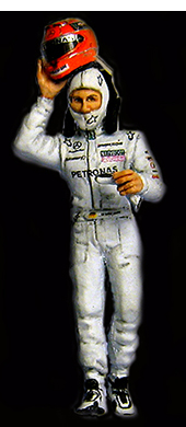 Michael Schumacher 2010 by racing dioramics