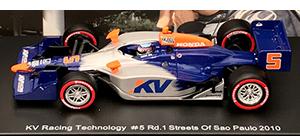 ixo sato kv racing sao paulo10 Takuma Sato edition Indy cars in 1/43