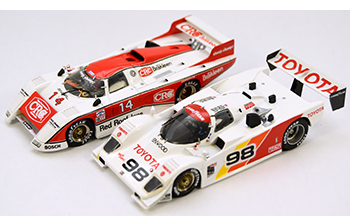 crc & toyota mkII gtps building 1/43 model cars