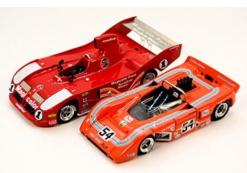 lola & mclaren can-am building 1/43 model cars