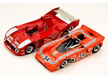 lola & mclaren can-am building 1/43 model cars
