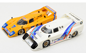 marsh lola & bmw gtp building 1/43 model cars
