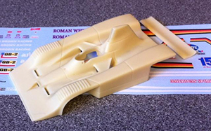 marsh models frisbee single seat can-am models in 1/43