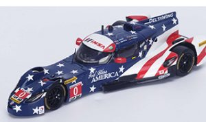 Red, white & blue 1/43 models spark deltawing
