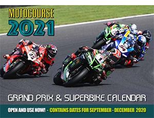 motocourse 2021motorsports calendars