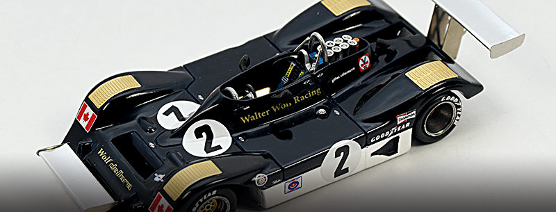 Marsh Wolf Dallara Villeneuve kit 1977 Mosport 1 43