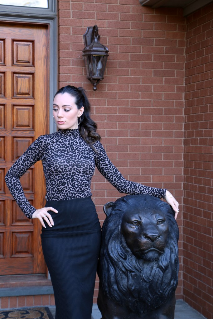 Leopard Lady - Shop the look now on The Rachel Review
