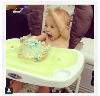 My exact reaction when I see cake as well.