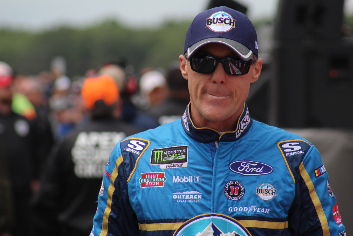Kevin Harvick at Pocono in June 2018.