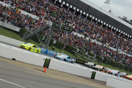 Green flag at Pocono