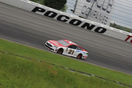 Paul Menard at Pocono