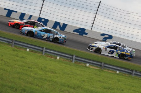 Truex leads at Pocono