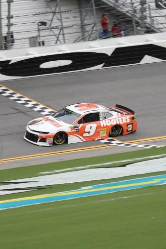 Chase Elliott Pole Daytona 2018