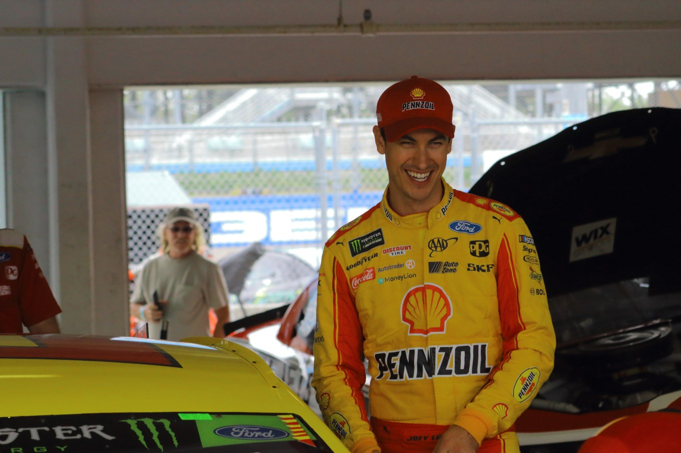 Joey Logano Homestead 2018