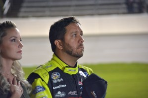 Matt Crafton National Anthem 2018 Texas