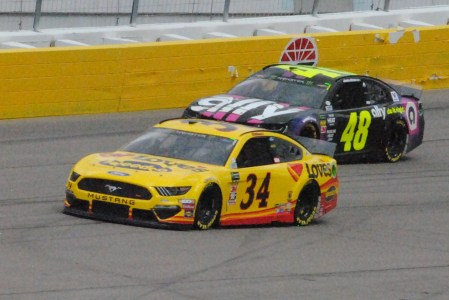 34 Michael McDowell 48 Jimmie Johnson 2019 Las Vegas