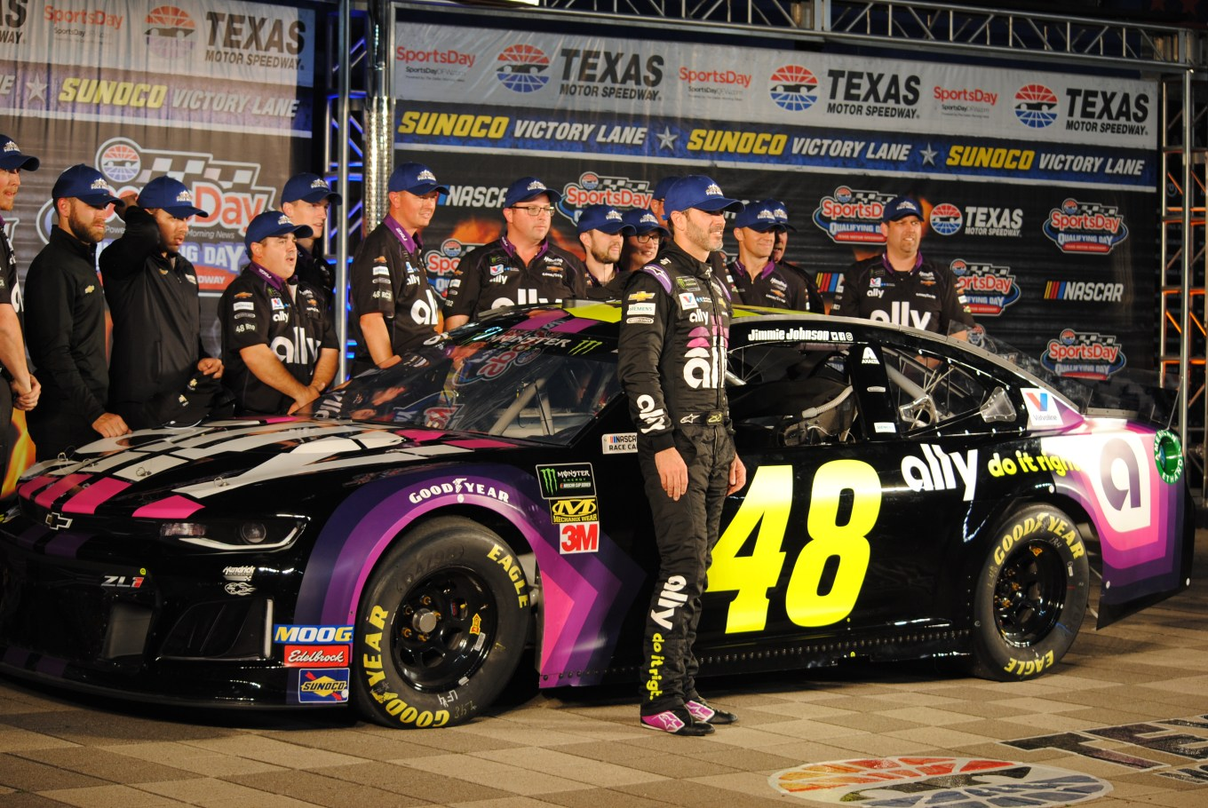 Jimmie Johnson 48 Texas Motor Speedway 2019 pole