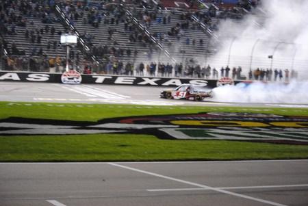 51 Kyle Busch victory Texas I Motor Speedway Trucks