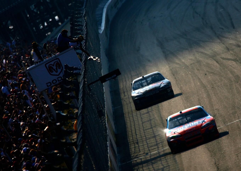 Jeff Gordon Denny Hamlin 2007