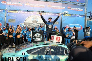 Kevin Harvick New Hampshire celebration win 2019