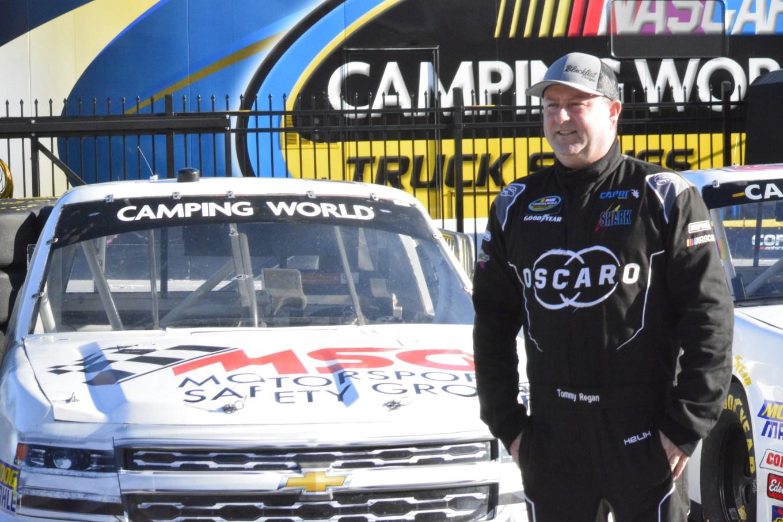 Tommy Regan by his truck Las Vegas